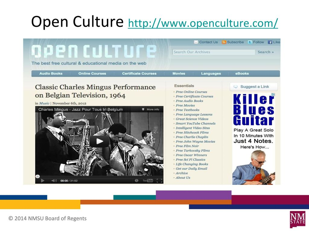 Open Education Resources (OER) - ppt download