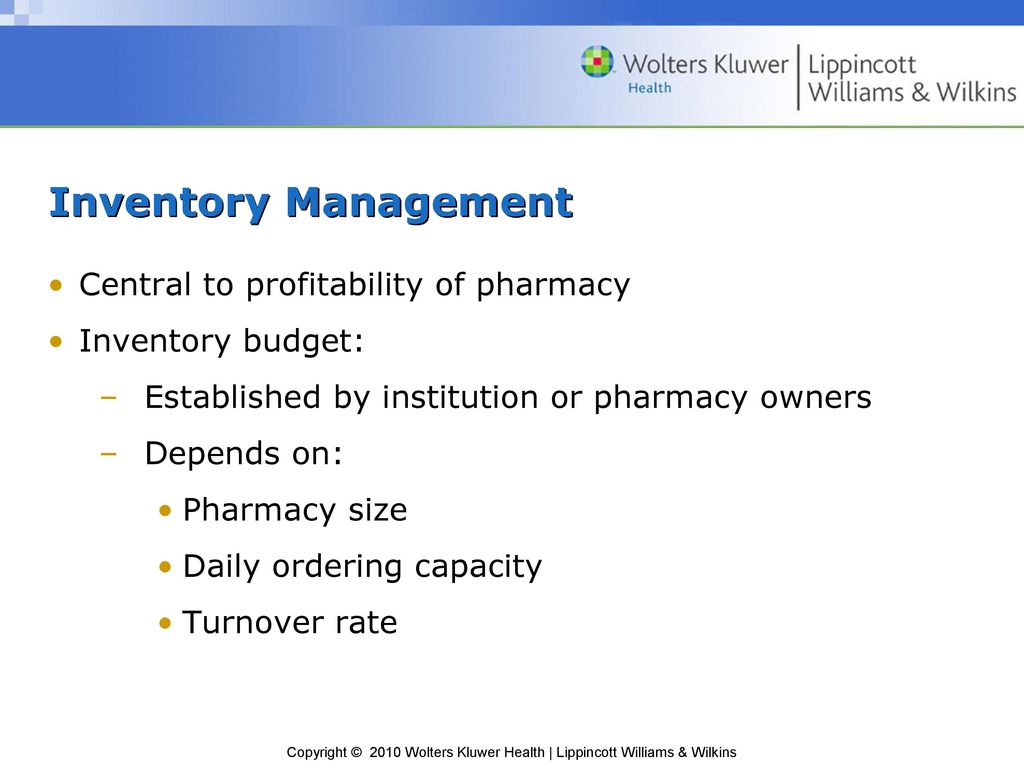 Chapter 14 Inventory Control  - ppt download