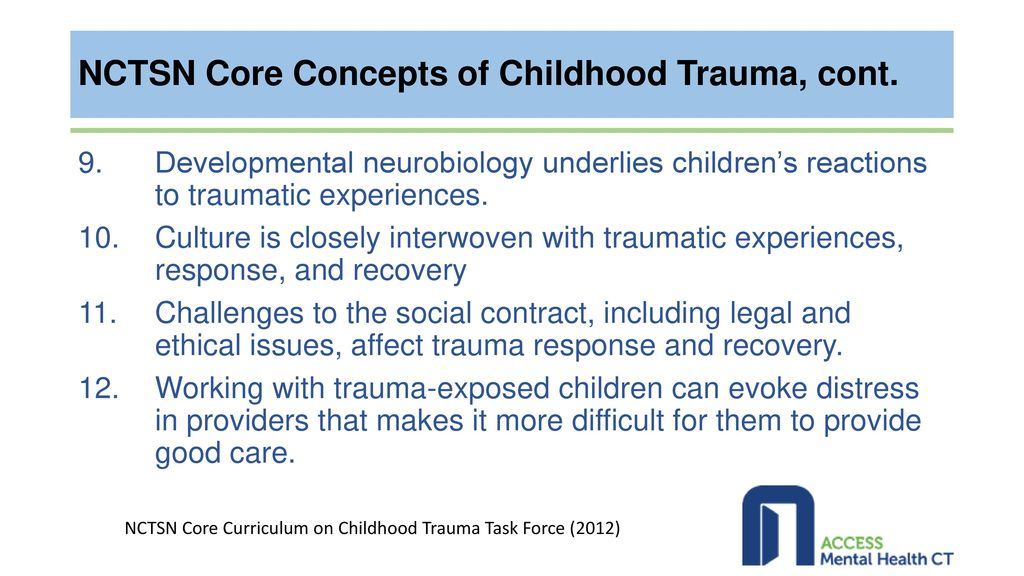 When Trauma Underlies Challenging >> Identifying And Addressing Adverse Childhood Events Trauma Related