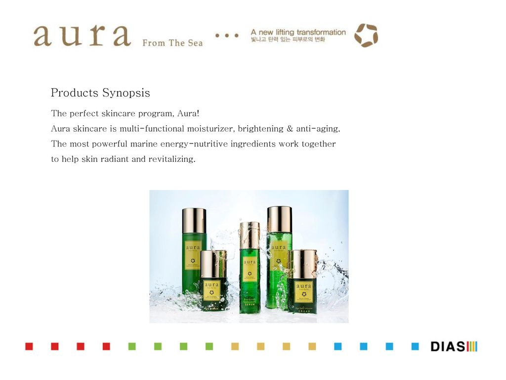 Products Synopsis The perfect skincare program, Aura! - ppt