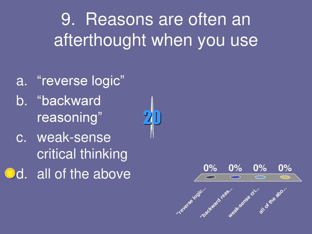 weak sense critical thinking