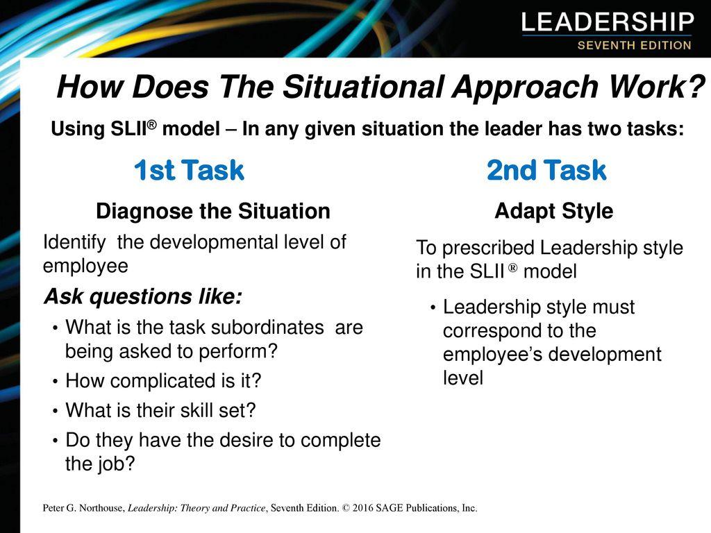 situational leadership northouse