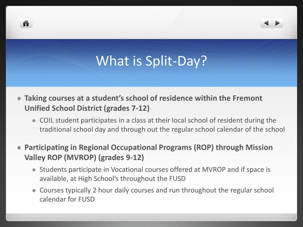 Fremont Unified School District Calendar.Circle Of Independent Learning Ppt Download