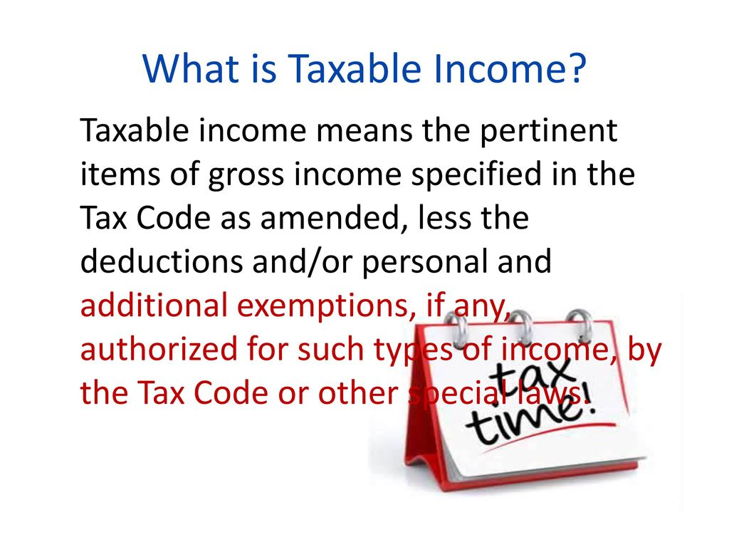 income taxation. - ppt download