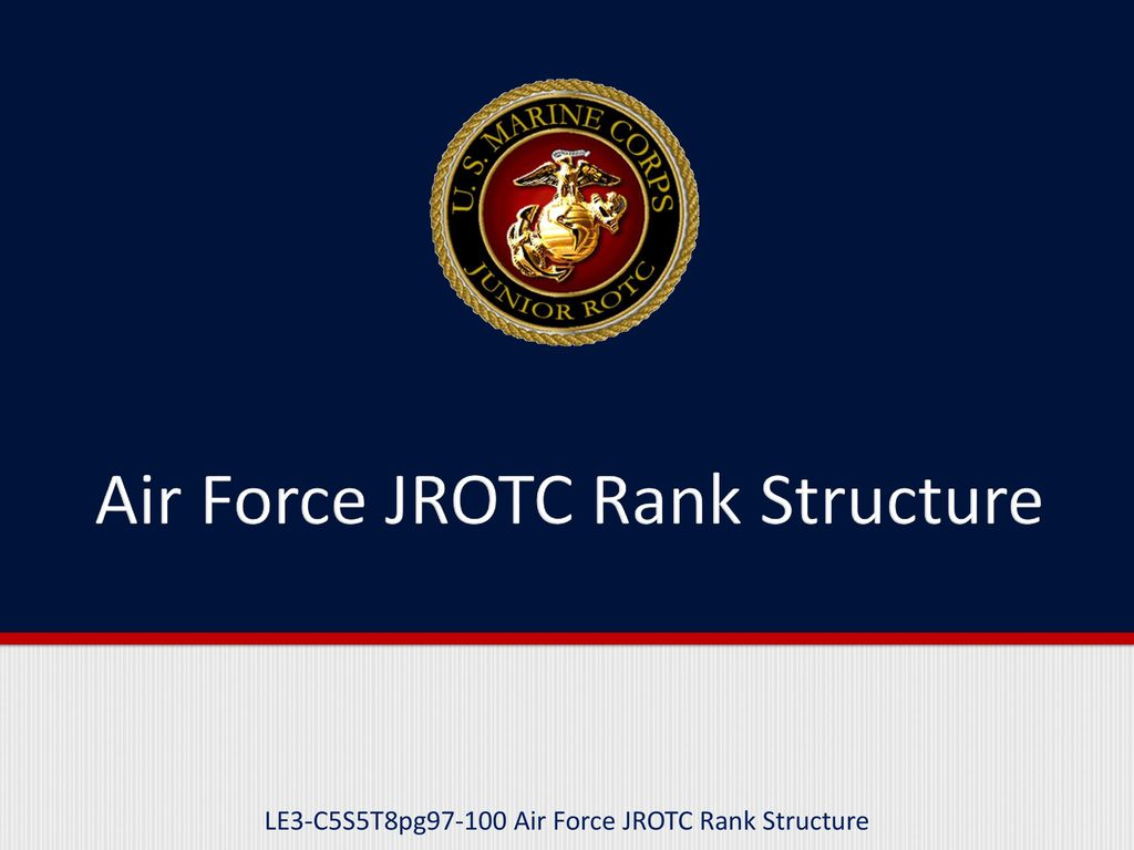 army jrotc ranks test