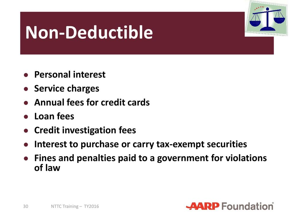 Itemized deductions tax computation ppt download non deductible personal interest service charges reheart Images