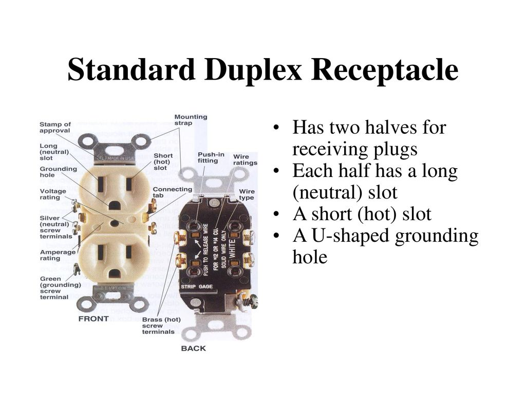 ELECTRICAL RECEPTACLES - ppt download