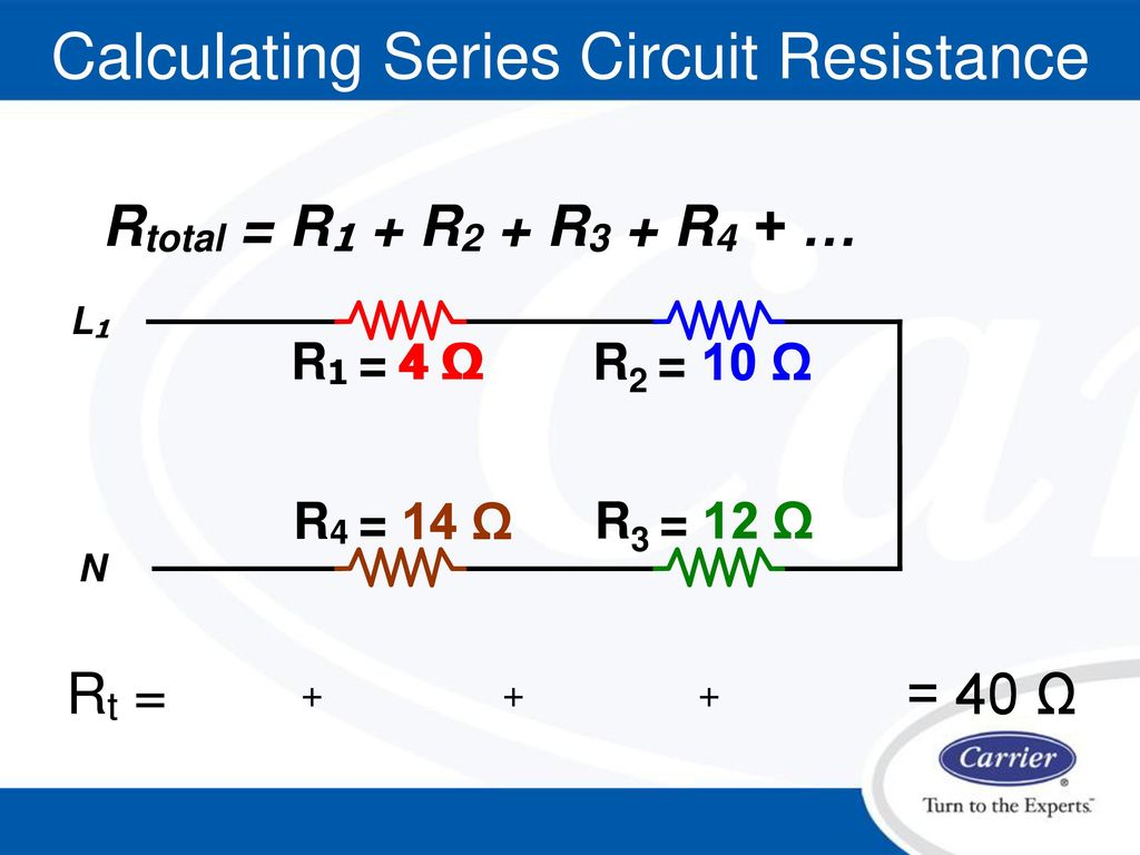 Electrical Fundamentals Ppt Download Generator Wiring Diagram L1 R1 Calculating Series Circuit Resistance