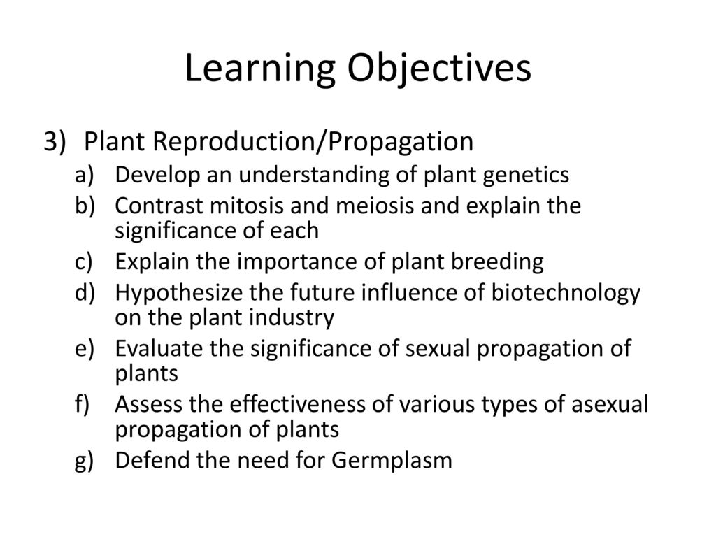 Asexual propagation hypothesis