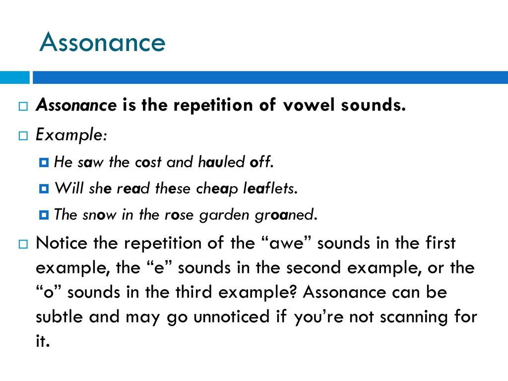 sound and rhyme. - ppt download