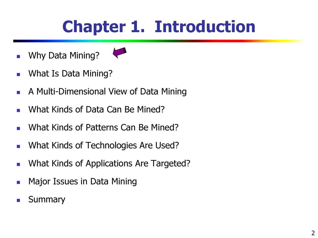 Data Mining: Concepts and Techniques (3rd ed ) — Chapter 1