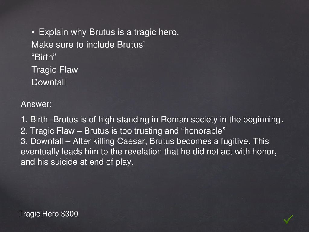 how are caesars and brutus tragic flaws different