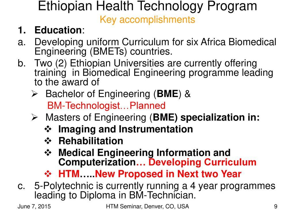 biomedical engineering accomplishments