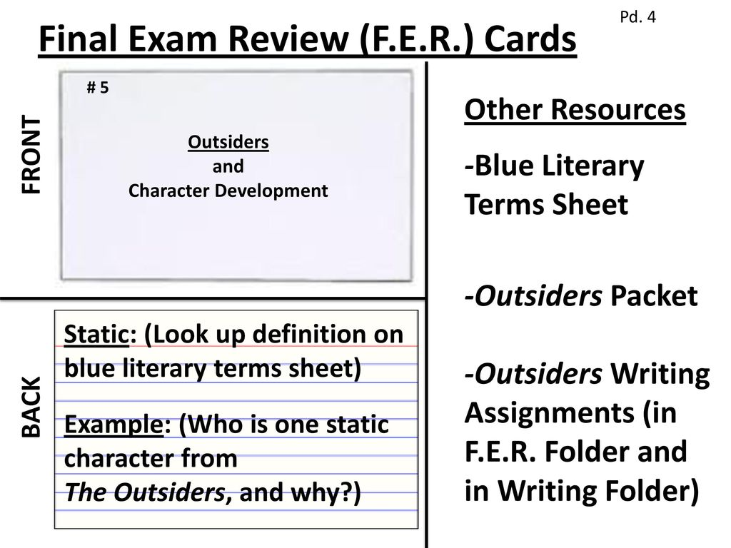 take out your final exam review (f.e.r.) - ppt download