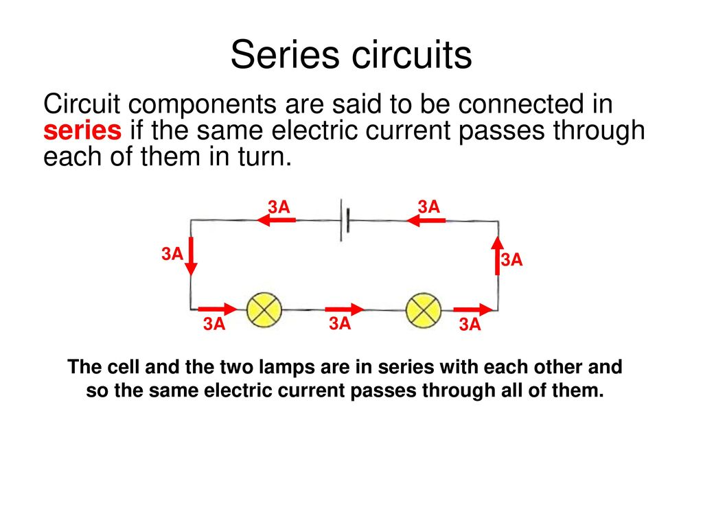 Edexcel Igcse Physics Pages 74 To Ppt Download Is Light On The Ldr It Allows Current Pass Through Circuit Series Circuits Components Are Said Be Connected In If Same Electric