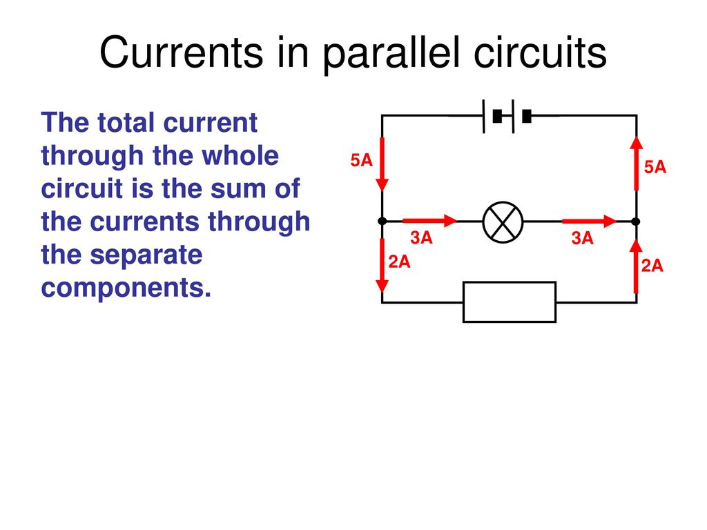 Edexcel Igcse Physics Pages 74 To Ppt Download A Parallel Circuit Diagram Currents In Circuits