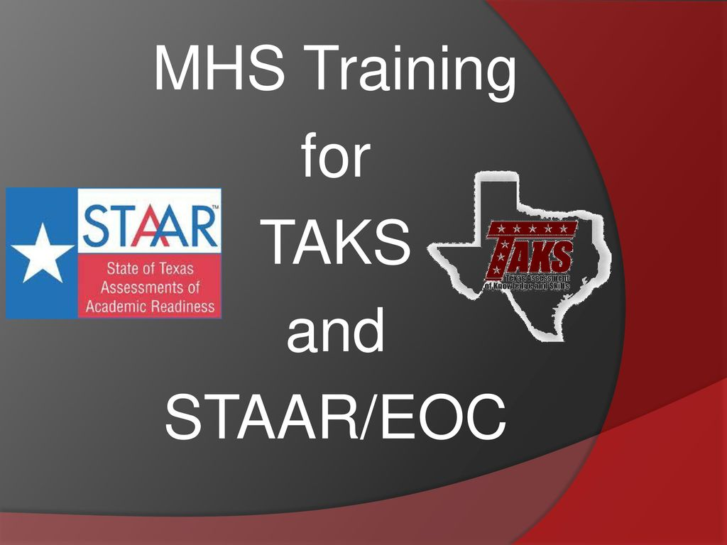 Mhs training for taks and staareoc ppt download 1 mhs training for taks and staareoc fandeluxe Image collections