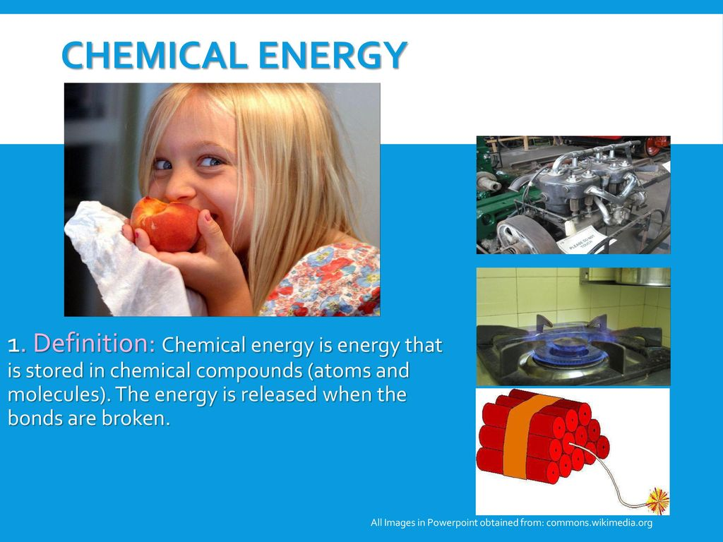 Forms Of Energy Explain Ppt Download