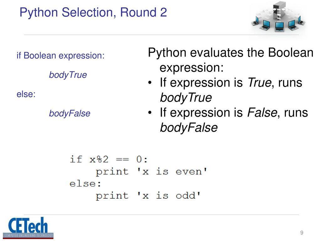 Control Flow Python Dr Jos M Reyes Lamo Ppt Download Selection Round 2