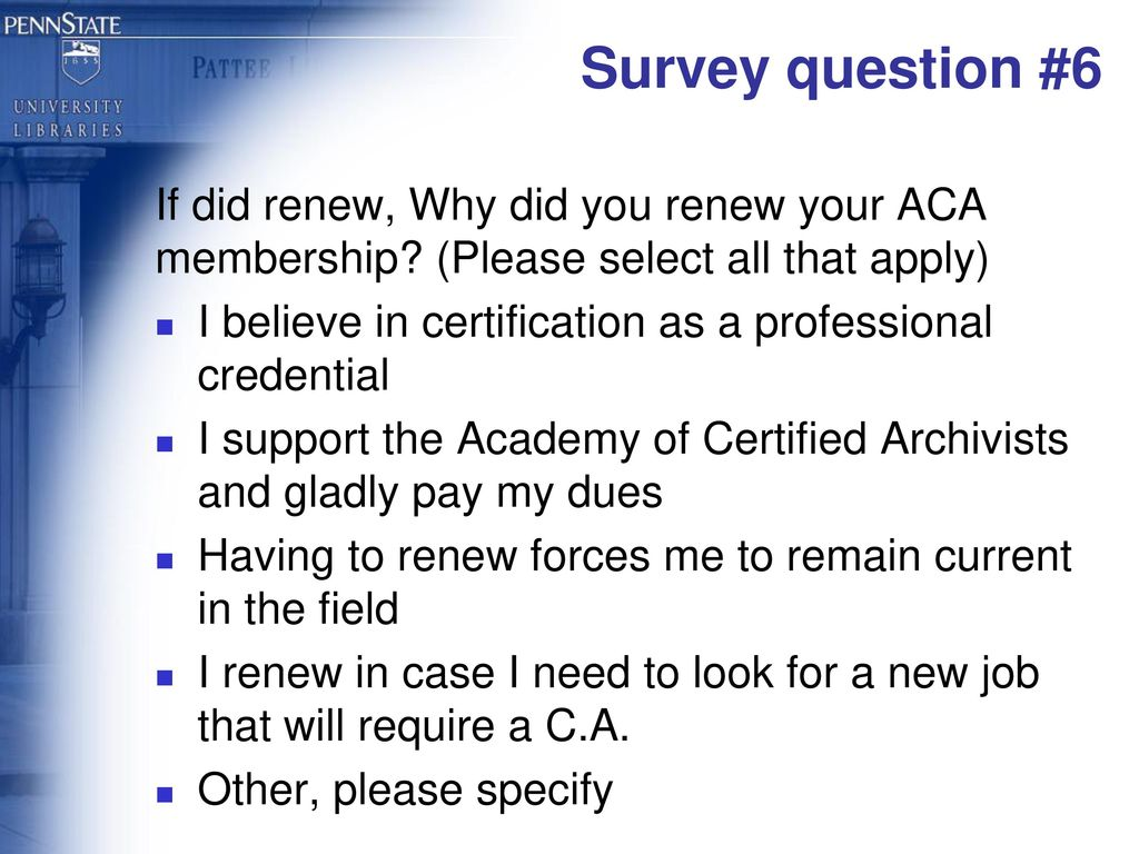 Why Archival Certification Ppt Download