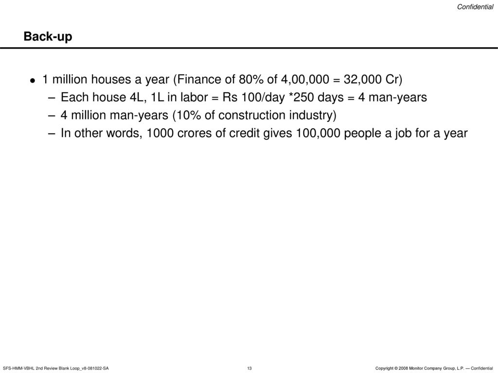 Low Income Housing in Urban India - ppt download