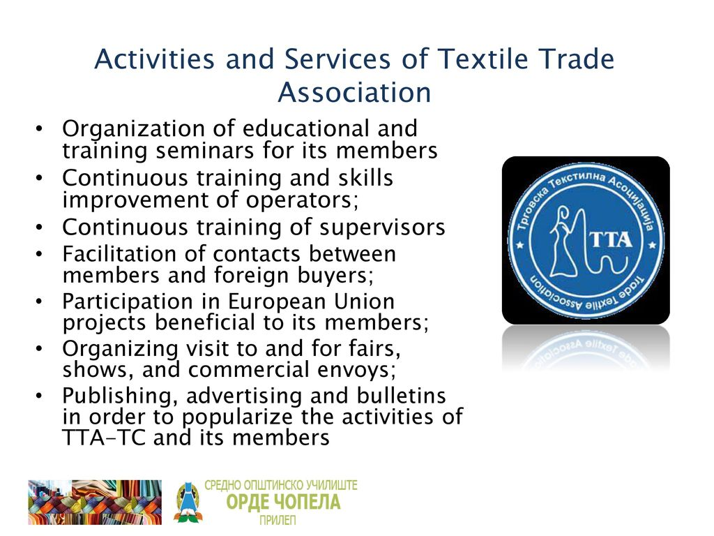 TEXTILE INDUSTRY IN THE PAST AND IN THE PRESENT - ppt download