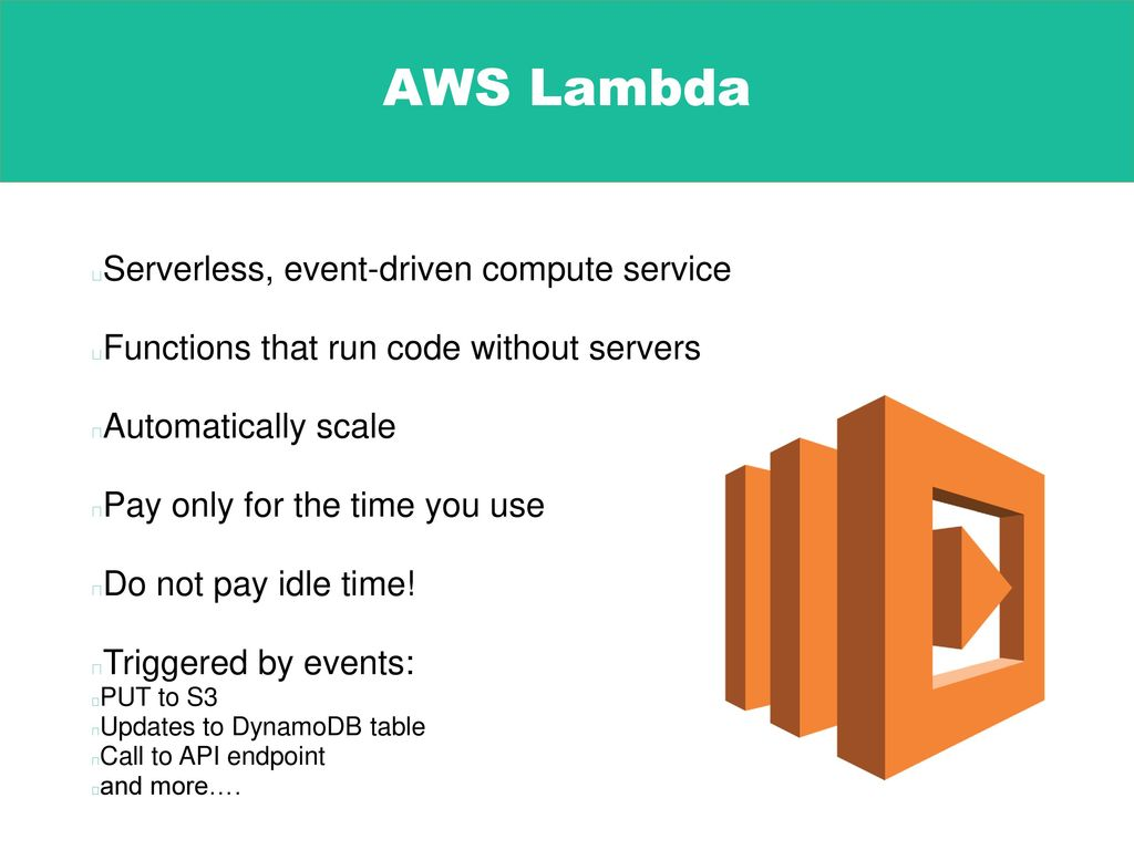 Going Serverless with AWS Lambda - ppt download
