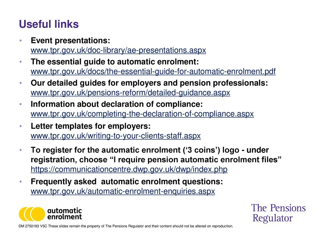 Automatic enrolment auto enrolment and small businesses ppt download 37 useful spiritdancerdesigns Gallery