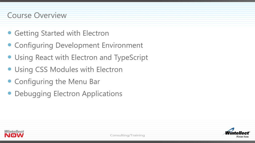 Building Desktop Apps with Node js and Electron - ppt download