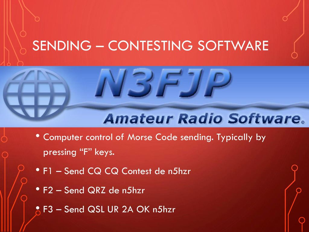 South Canadian amateur radio society's morse code - ppt download