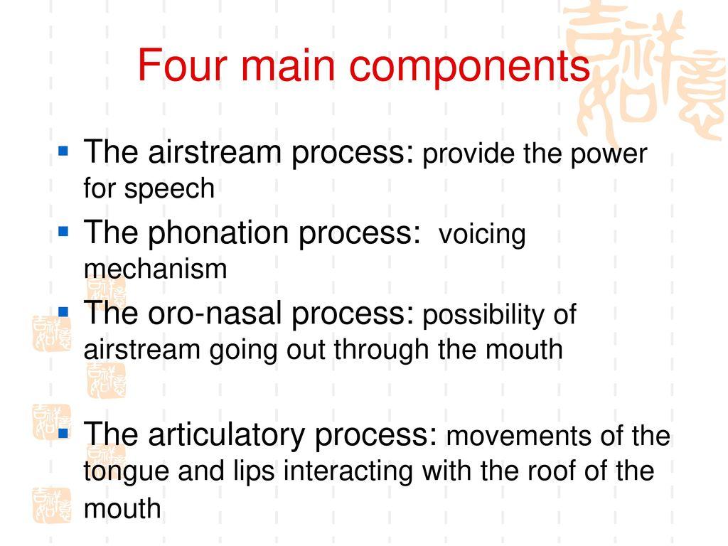 phonation process