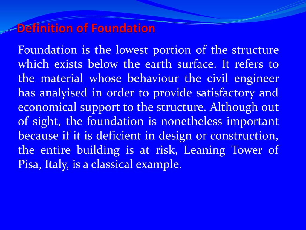 the engineering of foundations - ppt download