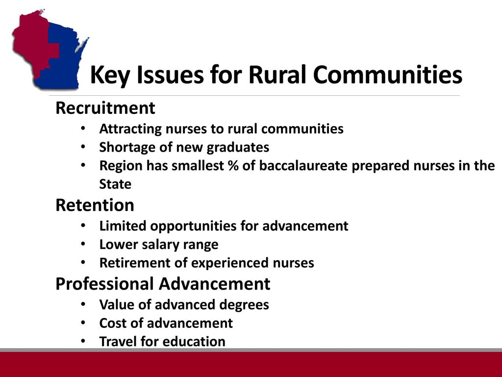 Challenge For Rural Health Systems Nurse Educators Ppt Download