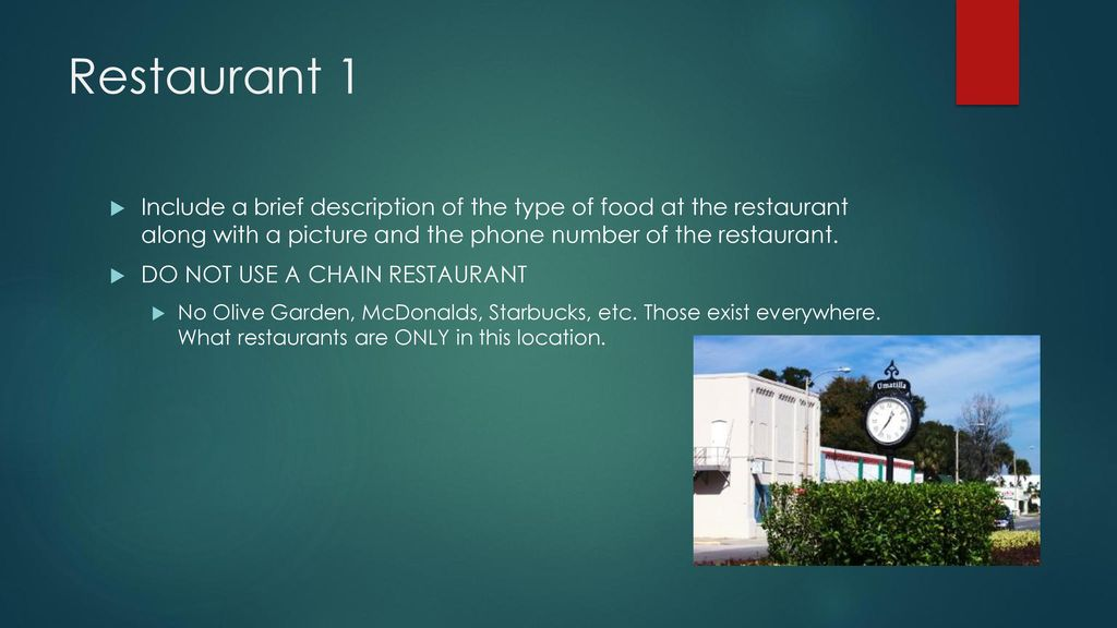 City Visitor Project Example Ppt Download