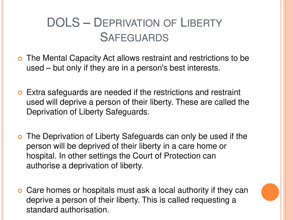Treatment of depriving a person: it is necessary to eliminate the root cause, not the external manifestations 32