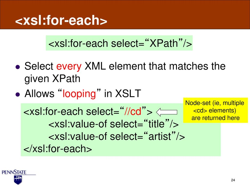 XSLT: XML Transformation - ppt download