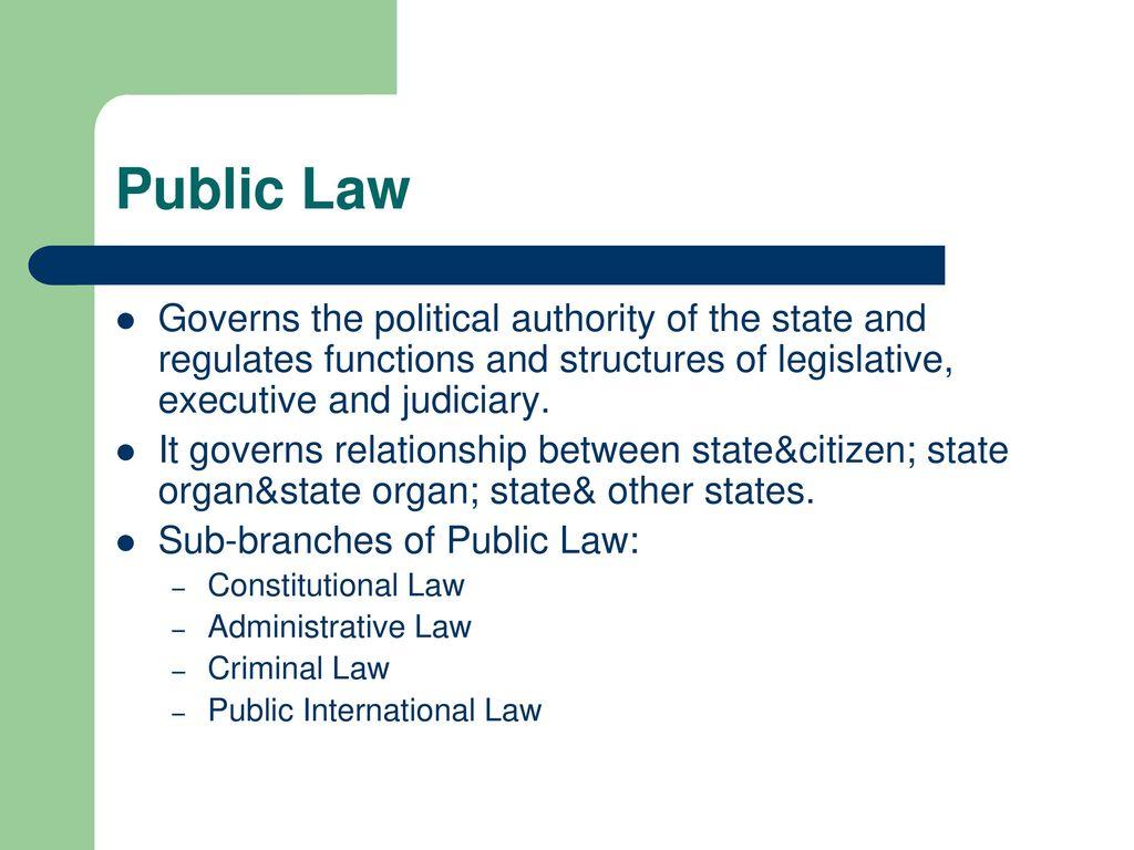 Criminal-executive law