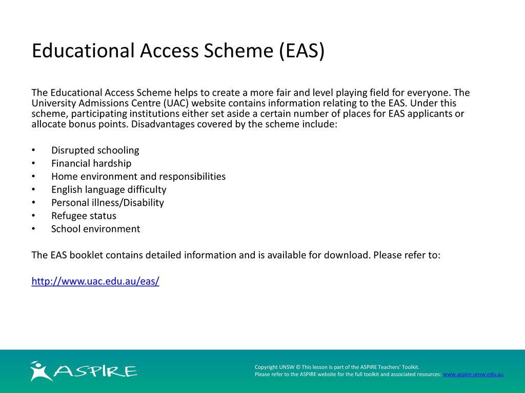eas scheme
