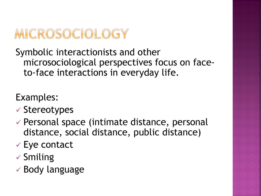 examples of symbolic interactionism in everyday life