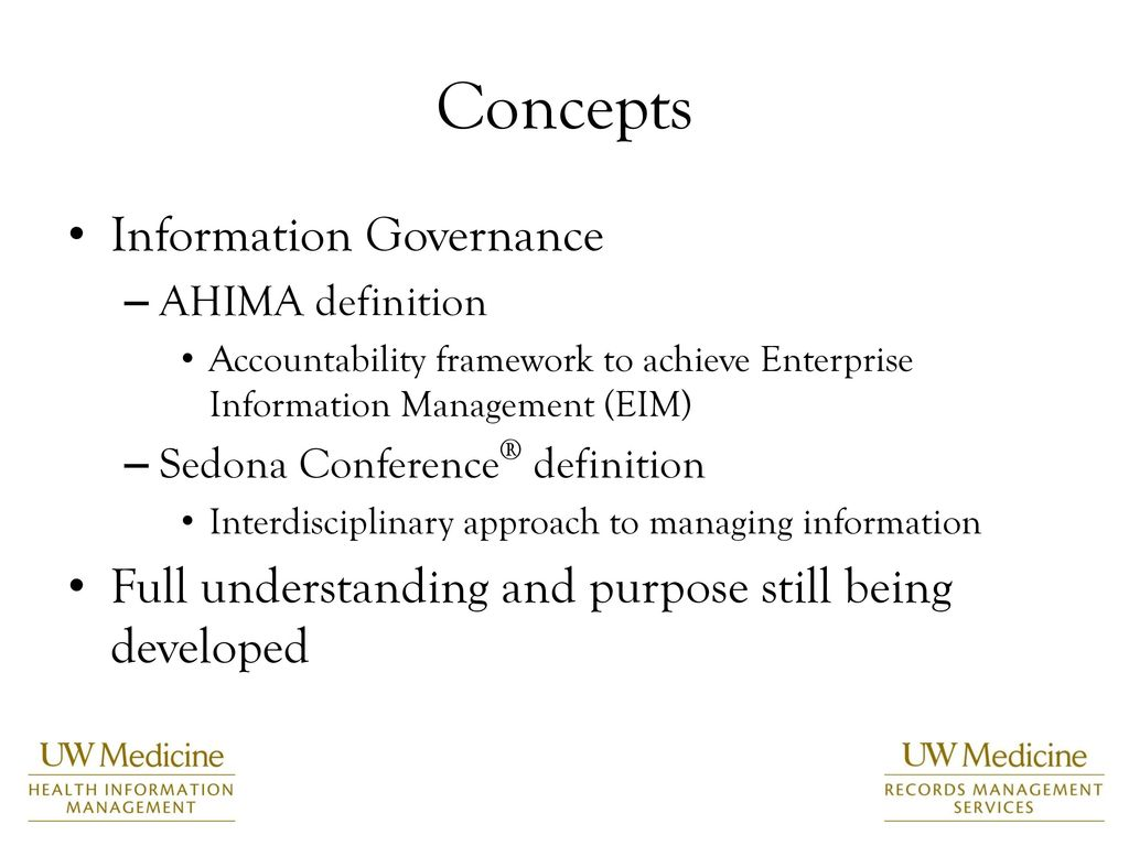 information governance: a grassroots success story - ppt download