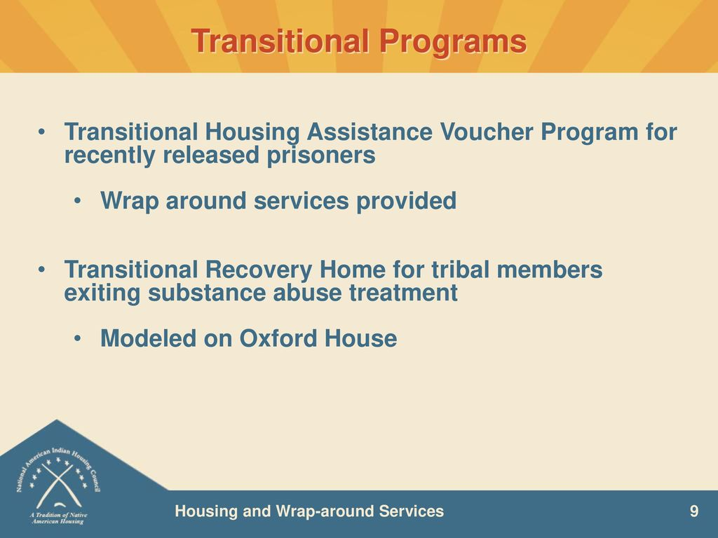Housing and Wrap-around Services - ppt download