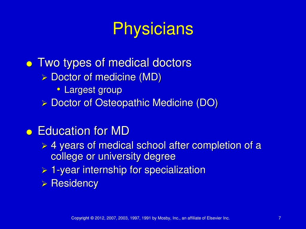 CHAPTER 25 MEDICAL CAREERS - ppt download