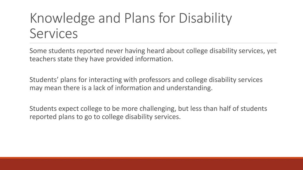 Lack Of College Disability Information >> Kimberly Teasley M S University Of South Carolina Ppt