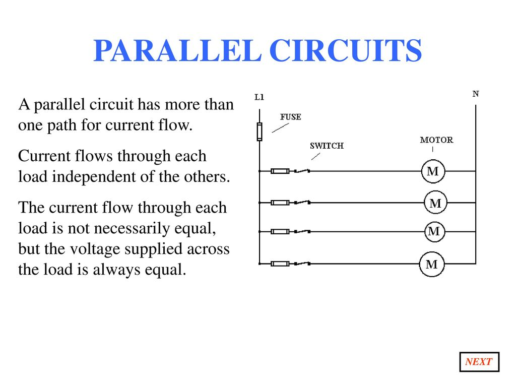 Section 1 What Is Electricity Ppt Download Circuit Path That Allows To Flow Through Parallel Circuits A Has More Than One For Current Flows