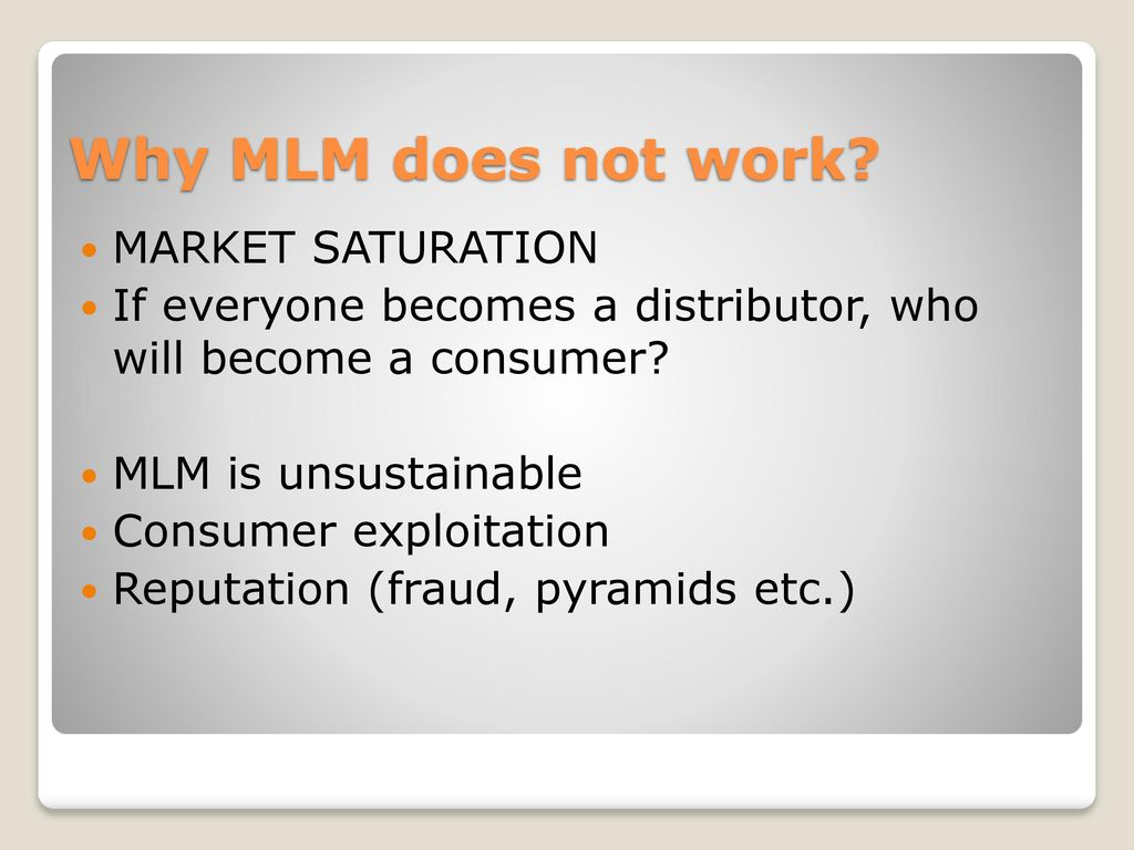 does mlm work