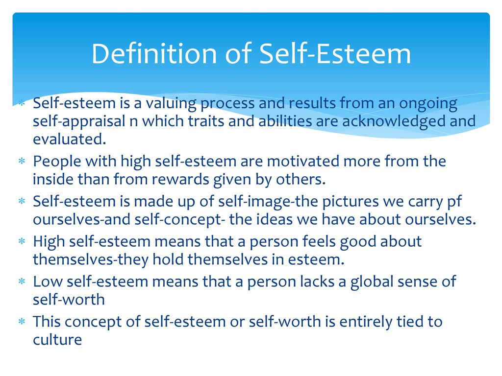 ch. 10 working with families to support self-esteem - ppt download