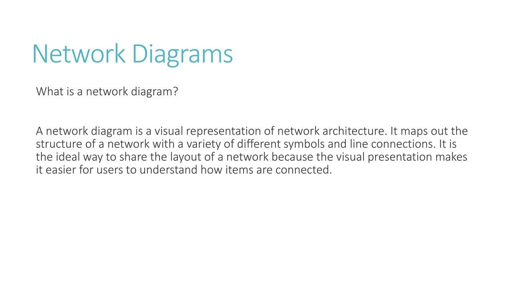 Network Diagrams Ppt Download