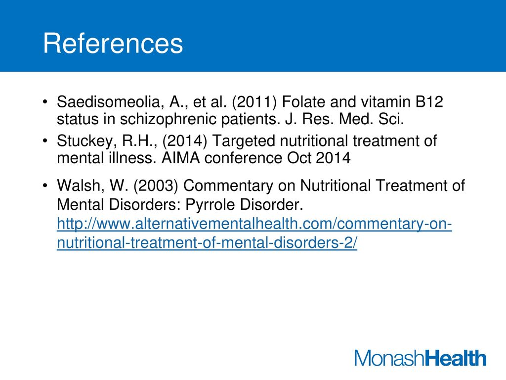 The Pain of Mental illness & the Role of Inflammation - ppt download