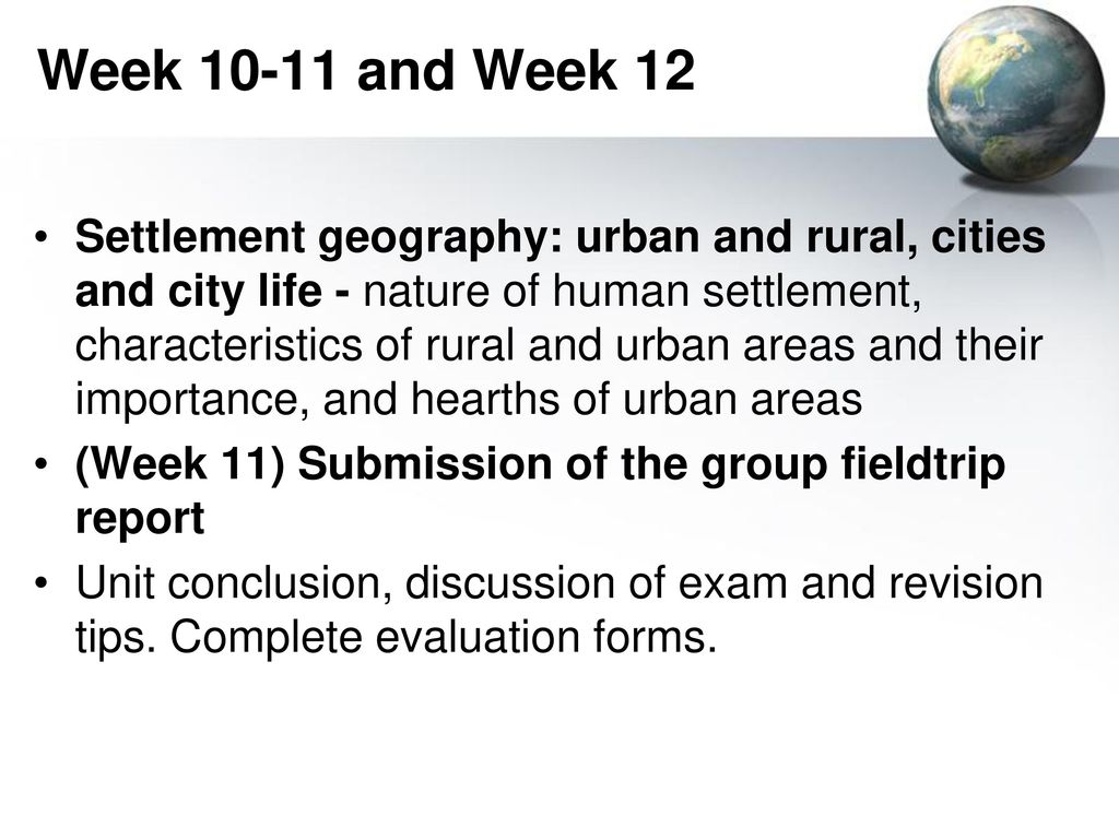 EGE 502 INTRODUCTION TO HUMAN GEOGRAPHY - ppt download