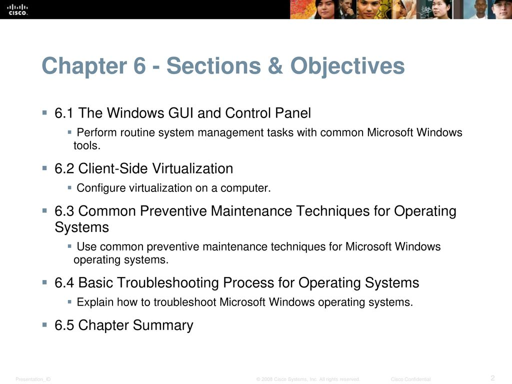 Chapter 6: Windows Configuration and Management - ppt download